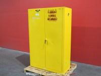 Justrite 45-Gallon Flammable Liquid Safety Storage Cabinet ...