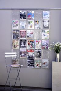 Racks & Stands - WALL MAGAZINE RACK / STORAGE was sold for ...