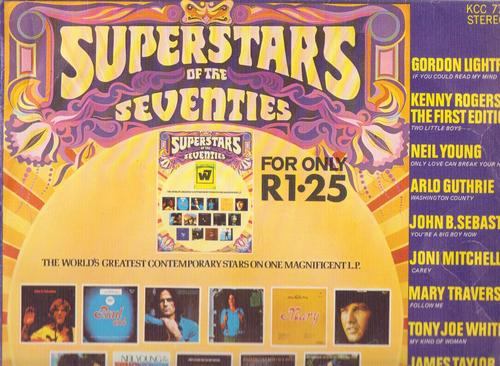 Superstars Of The Seventies - front