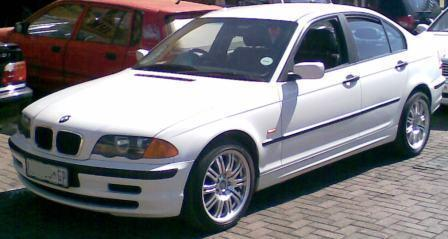 Bmw 318i E46 In White??