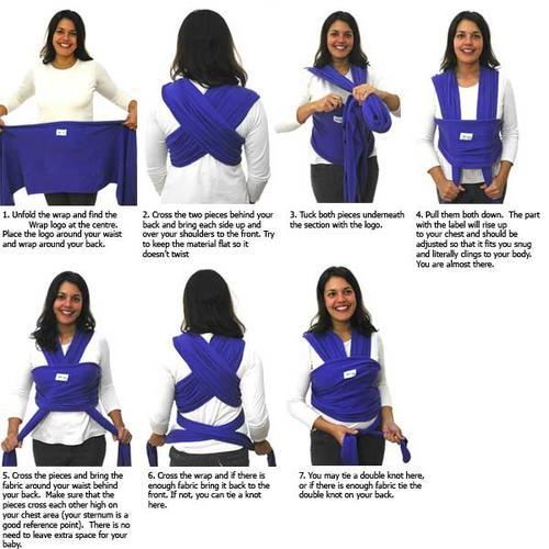 Homemade Baby Sling Wrap Carrier