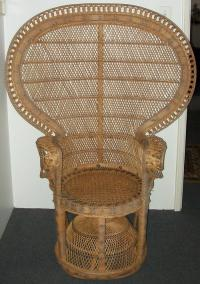Chairs, Stools & Footstools - ##RARE## Imported Wicker ...