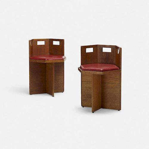 frank lloyd wright chairs best xbox gaming chair 2018 in the manner of pair by 990226 item image