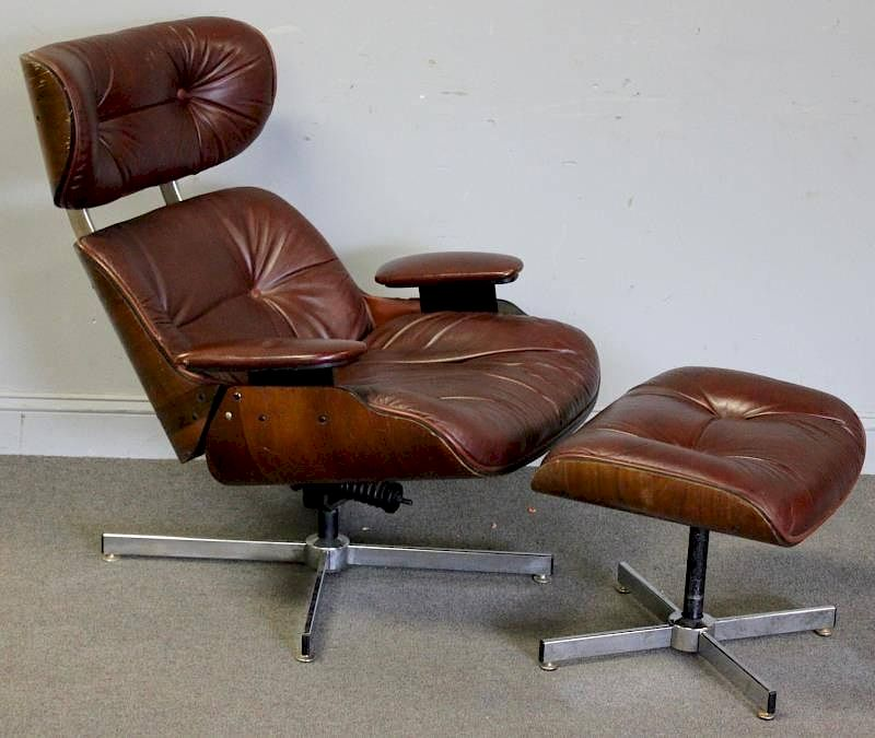 selig eames chair office diy midcentury style lounge with by clarke auction 89648 bidsquare