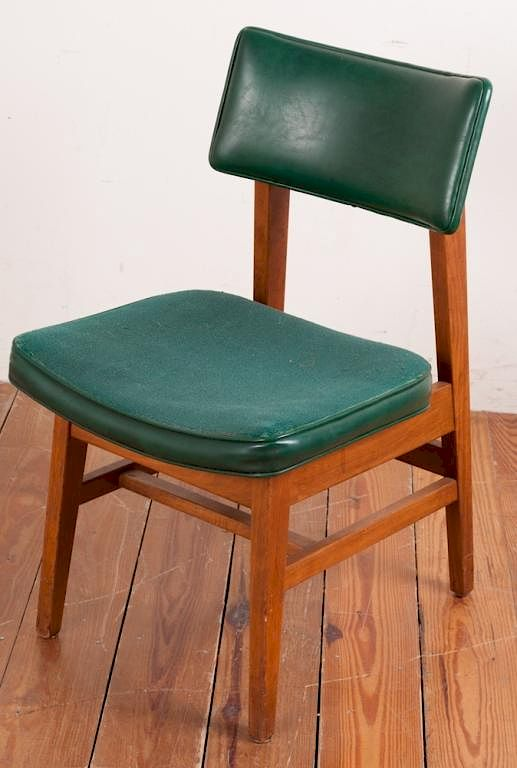 wh gunlocke chair headrest cover w h by bremo auctions 538787 bidsquare