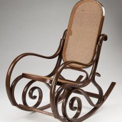 Bent Wood Rocking Chair Hanging Egg Chairs With Stand Thonet Style Bentwood By Great Gatsby S Auction Gallery Inc 958369 Bidsquare