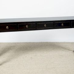 Black Lacquer Sofa Table Enchanted Home Pet Slade Chinese Console By Stair 1007015 Bidsquare