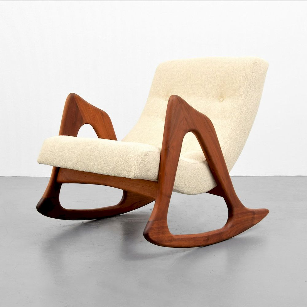adrian pearsall rocking chair walmart plastic outdoor chairs by palm beach modern auctions 1225151 bidsquare