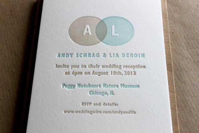 Danielle And Nicky Bespoke Wedding Invitations Vintage Letterpress