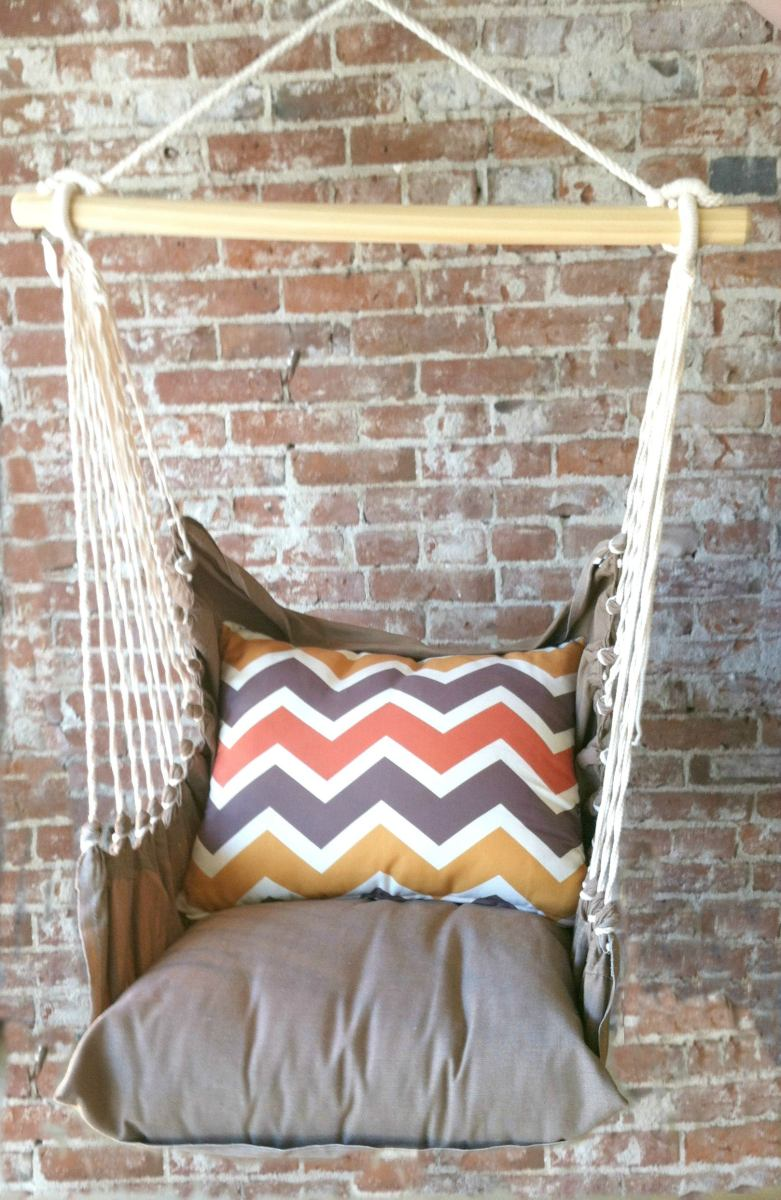 Hammock Swing Chair  Chevron  Home Ec
