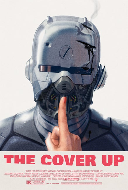 Sound Machine Records  The Cover Up Movie Poster