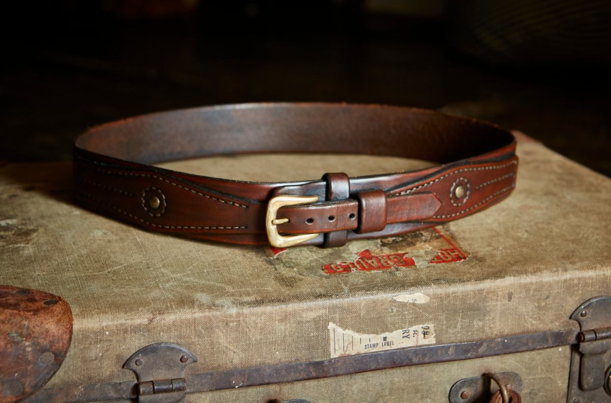Hawkmoth Leather Co  Handmade artisan luxury leather belts made by hand in the UK  Bottle