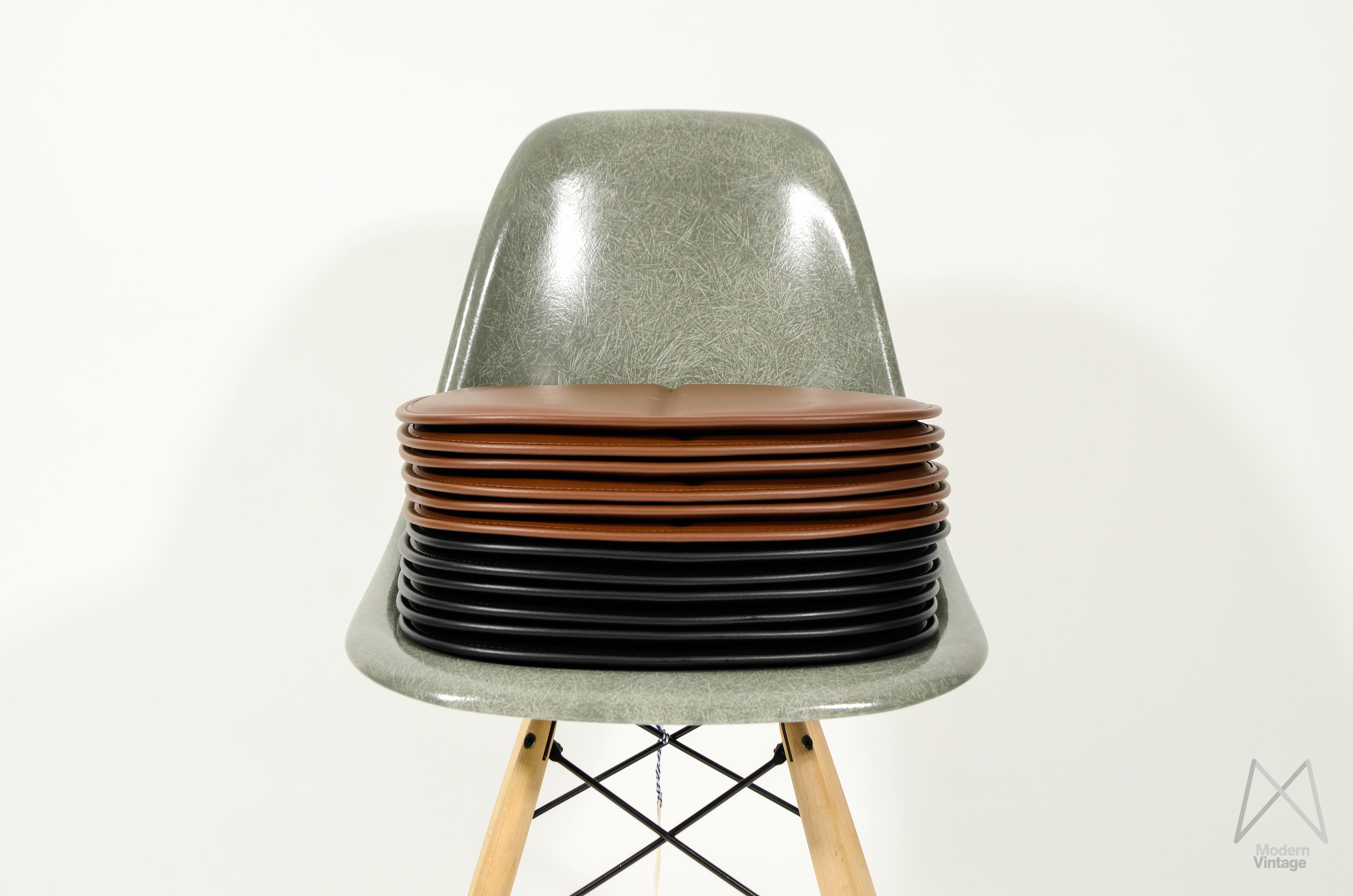 eames fiberglass chair swing cane modern vintage amsterdam original furniture