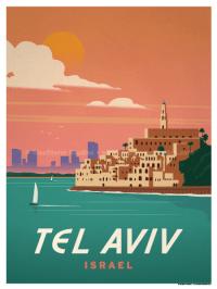 IdeaStorm Studio Store  Tel Aviv Poster