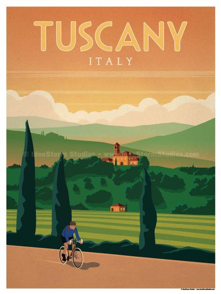 IdeaStorm Studio Store  Tuscany Poster