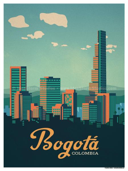 IdeaStorm Studio Store Bogot Poster