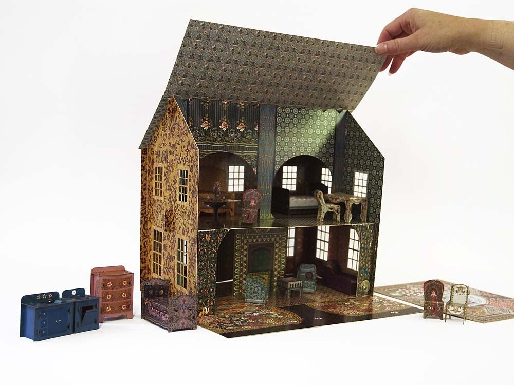 Emilys Dollhouse with all accessories 12 scale  leafpdx