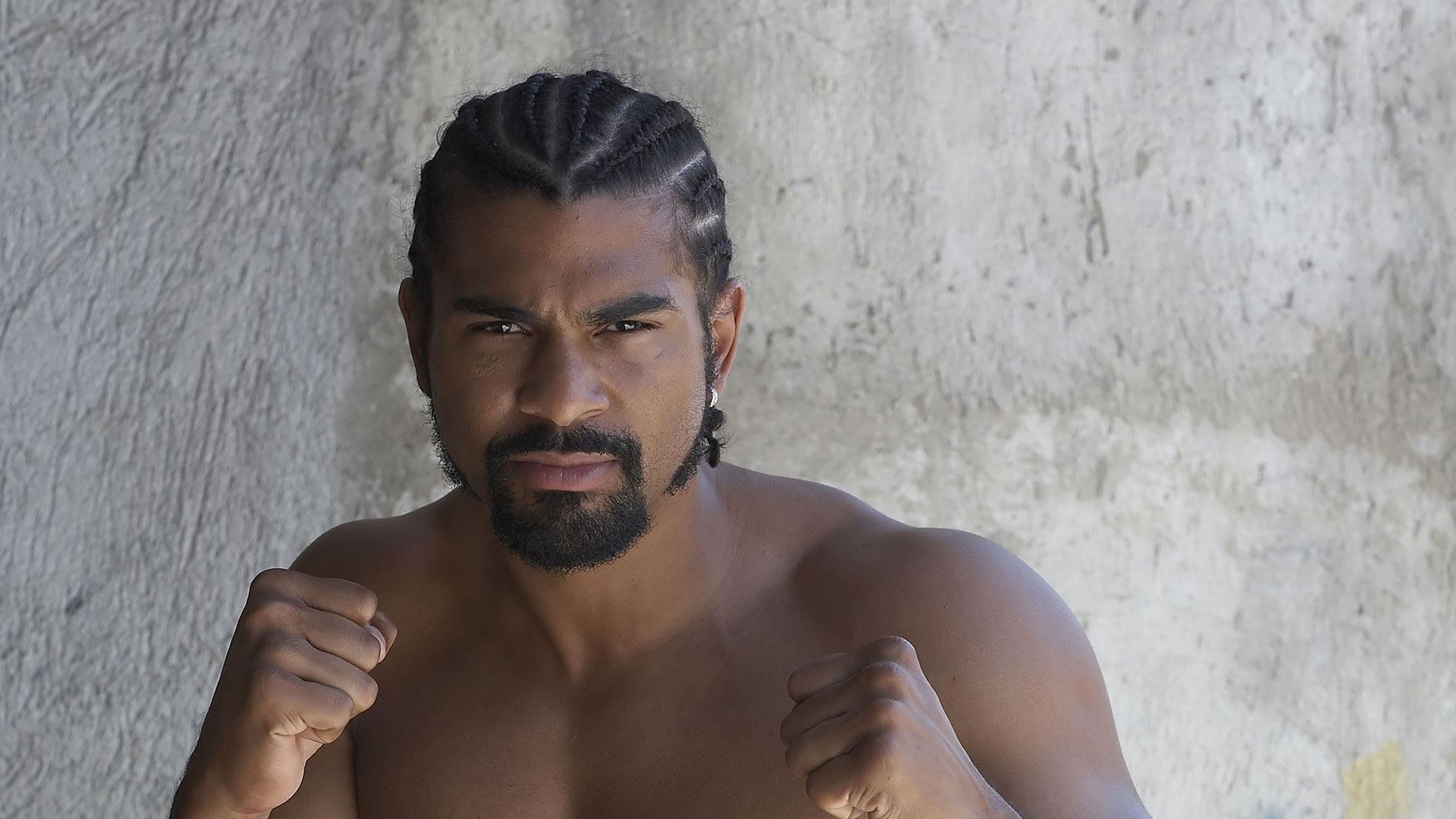 David Haye interview I dont want my son to be a boxer