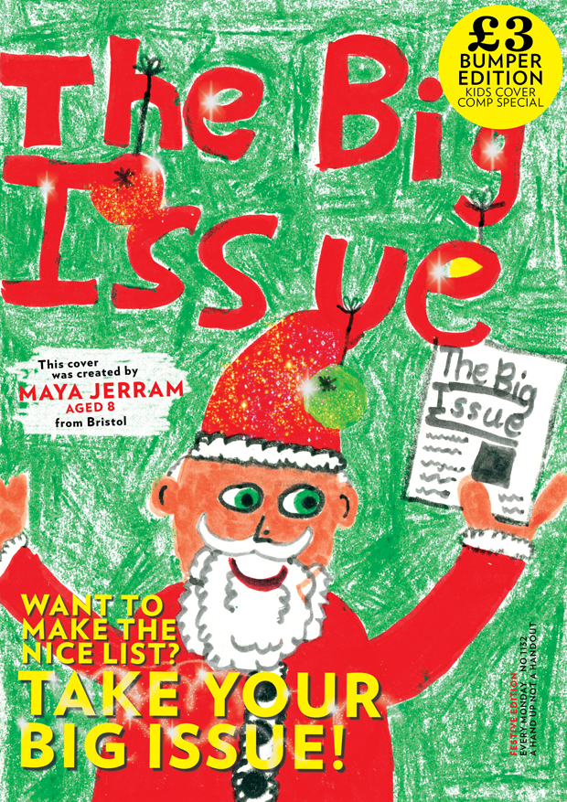 Its The Big Issues annual kids Christmas cover