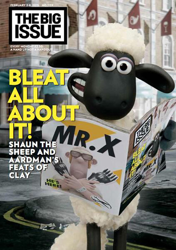Bleat all about it Shaun the sheep and Aardmans feats of clay  The Big Issue