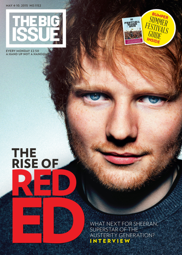 The rise of Red Ed What next for Sheeran superstar of the austerity generation  The Big Issue