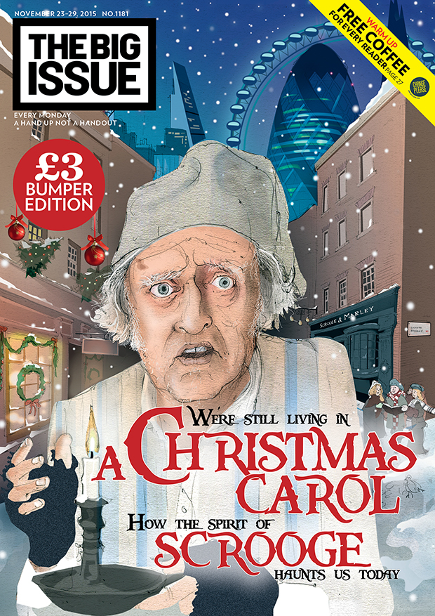 Were still living in a christmas carol How the spirit of Scrooge haunts us today  The Big Issue