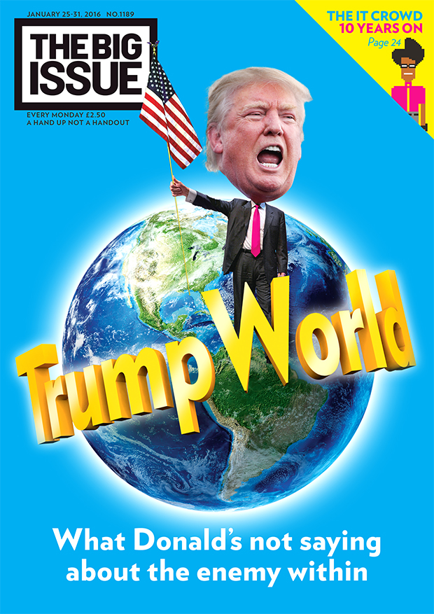 Trump World What Donalds not saying about the enemy within  The Big Issue