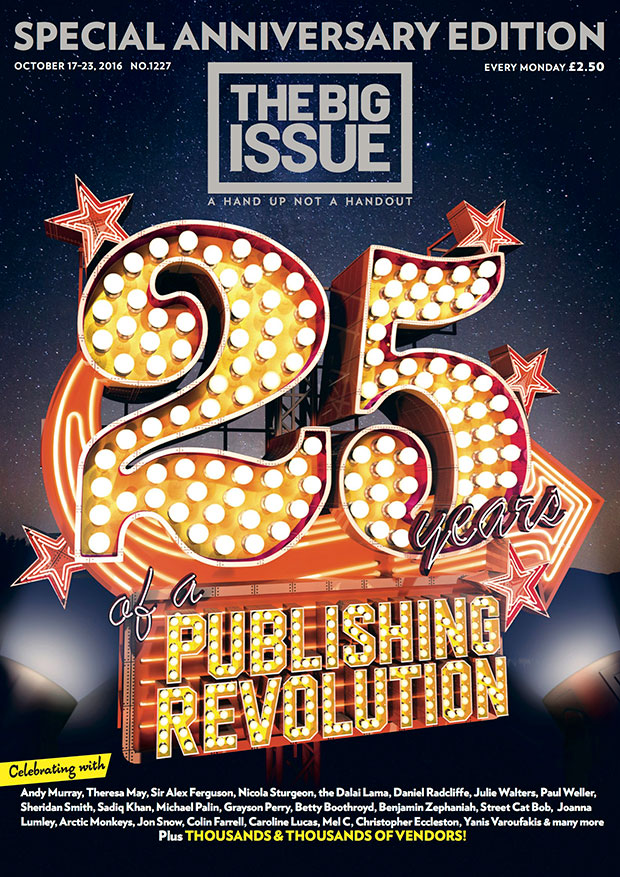 Special anniversary edition 25 years of a publishing revolution  The Big Issue