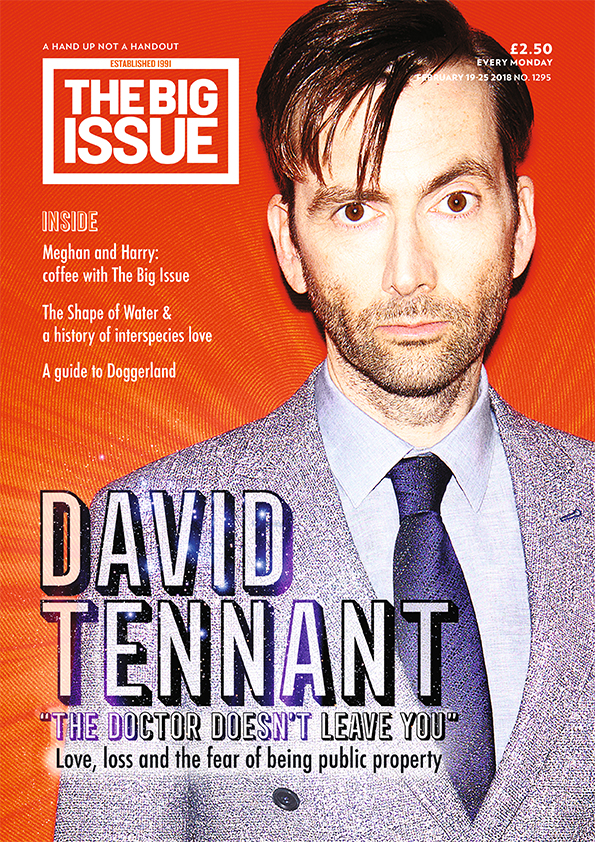 David Tennant Love loss and being public property  The Big Issue