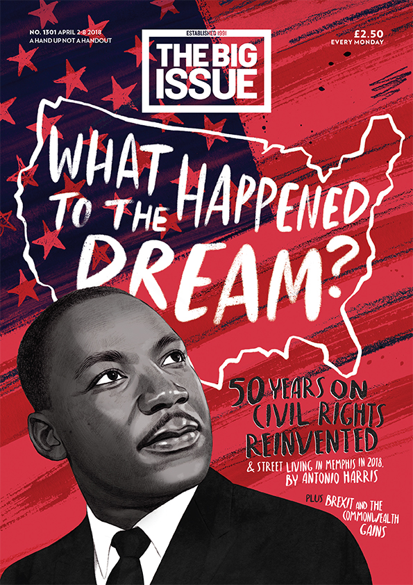What happened to the dream 50 years on  civil rights reinvented  The Big Issue