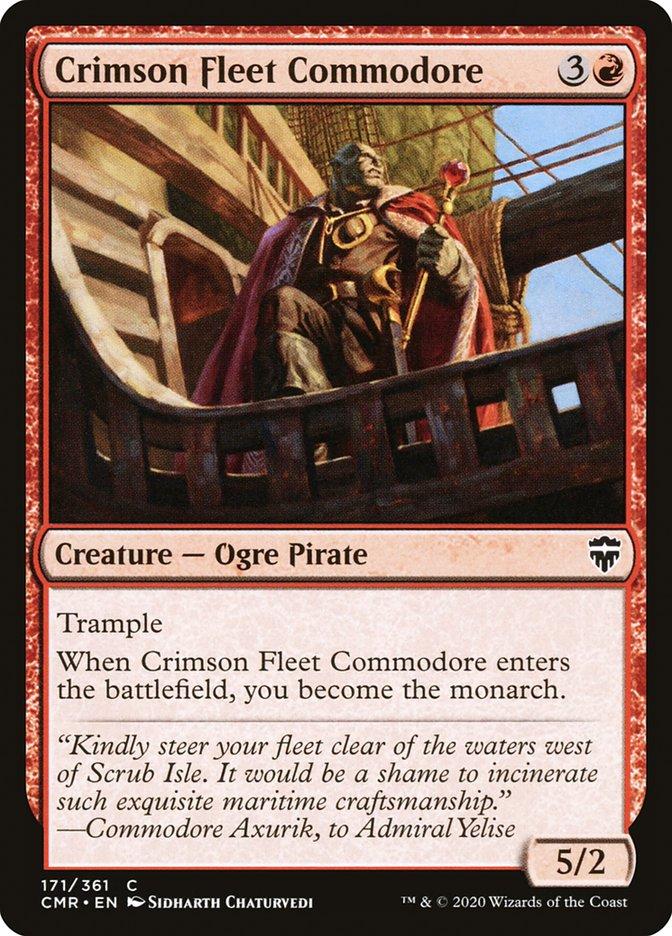 Crimson Fleet Commodore