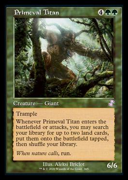 Primeval Titan (Timeshifted)
