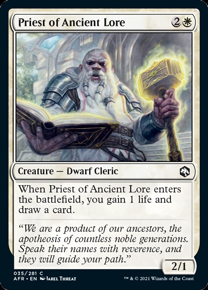 Priest of Ancient Lore