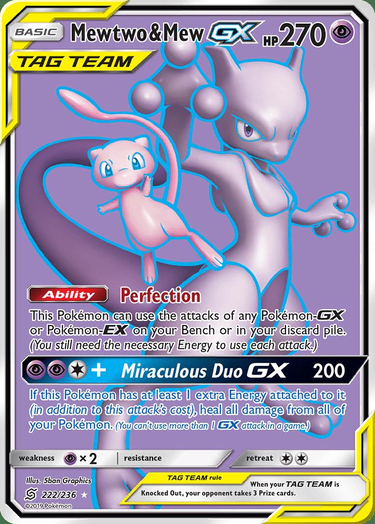 Mewtwo & Mew-GX (222/236)