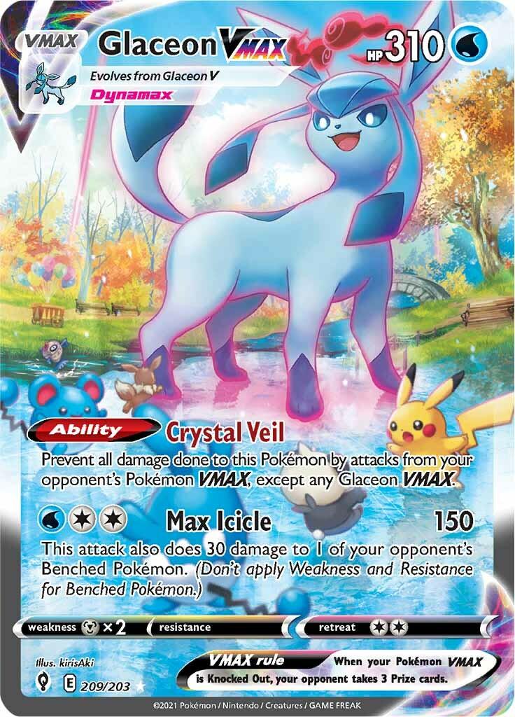 Glaceon VMAX (209/203)