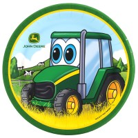 John Deere Johnny Tractor Dessert Plates | BirthdayExpress.com