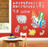 Dr. Seuss ABC - Giant Wall Decals | BirthdayExpress.com