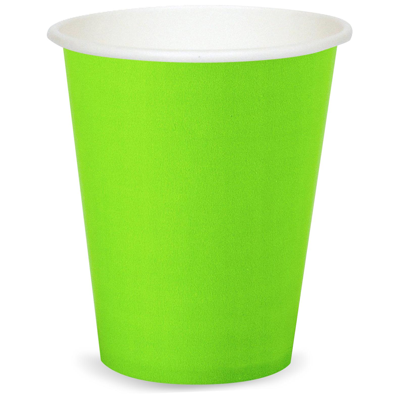 9 Oz Cup Lime Green Birthdayexpress Com