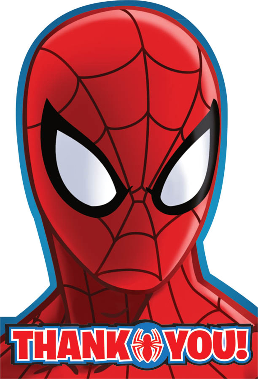 Spiderman Thank You Notes BirthdayExpress Com