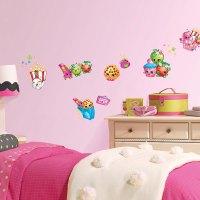 Shopkins Small Wall Decals | BirthdayExpress.com