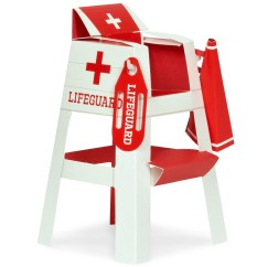 How To Build A Lifeguard Chair Macy Stool Grey Splashin 39 Pool Party Placecard Holder