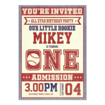 baseball birthday invitations birthdayinvitations4u