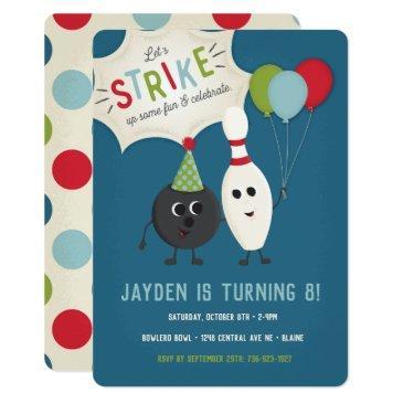 bowling birthday invitations birthdayinvitations4u
