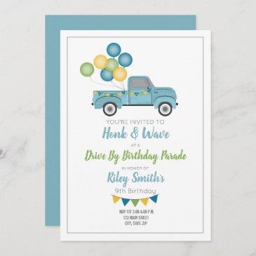 quarantine birthday invitations