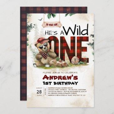 woodland birthday invitations