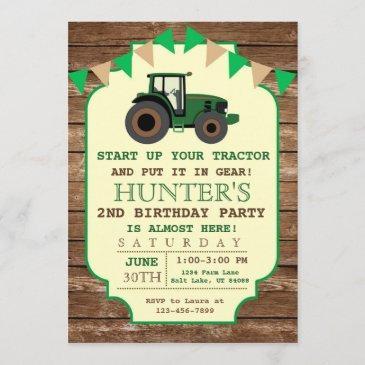 farm birthday invitations