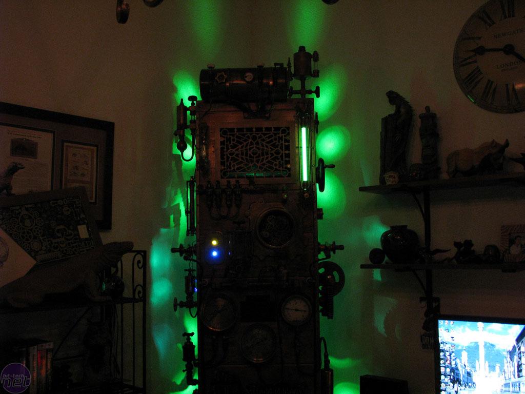 Steampunk Frankenstein PC mod  bittechnet
