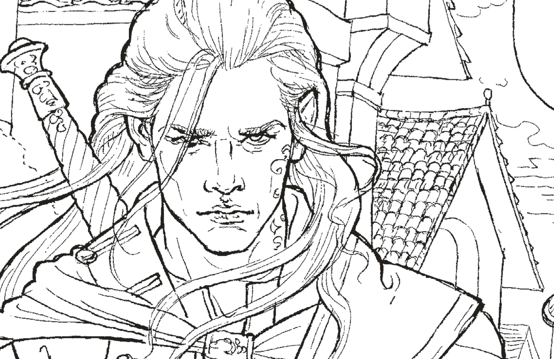The Throne of Glass Colouring Book Free Pattern Download