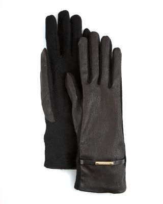 Burberry Cashmere Leather Jenny Gloves Bloomingdale'