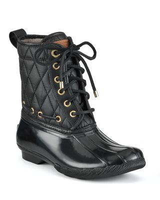 Sperry Top-sider Quilted Rain Boots - Shearwater